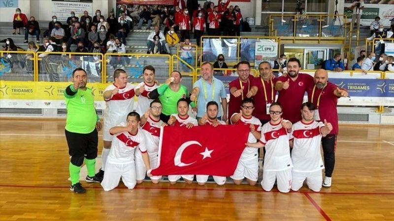 2021 Down Sendromlular Avrupa Oyunları'nda Basketbol Milli Takımı ikinci oldu