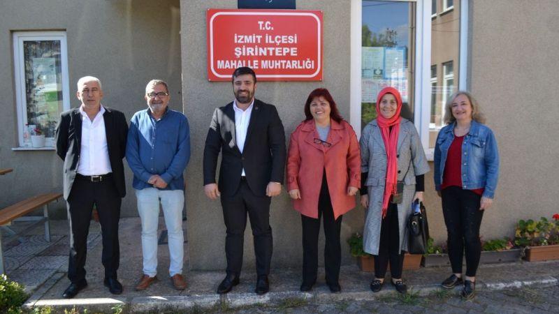 BBP ilçe yönetimi muhtar ziyaretlerine devam ediyor