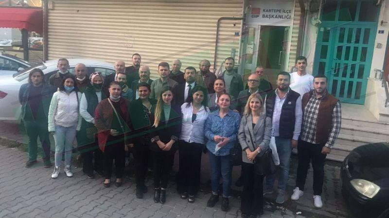 İYİ Parti Kartepe'den Merttürk'e tam kadro ziyaret