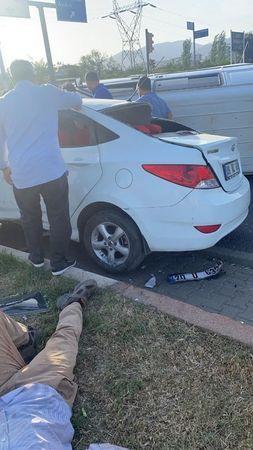 Nazilli'de Feci Kaza; 4 Yaralı