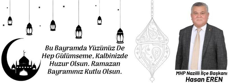 Hasan Eren'in Ramazan Bayramı Mesajı