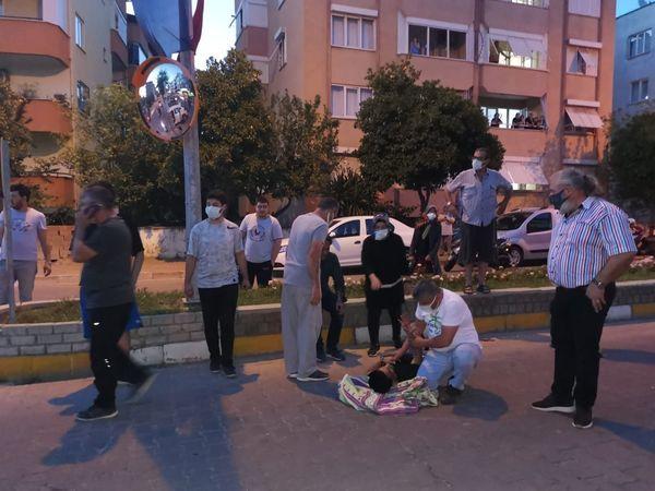 Nazilli'de Kaza; 1 Yaralı!