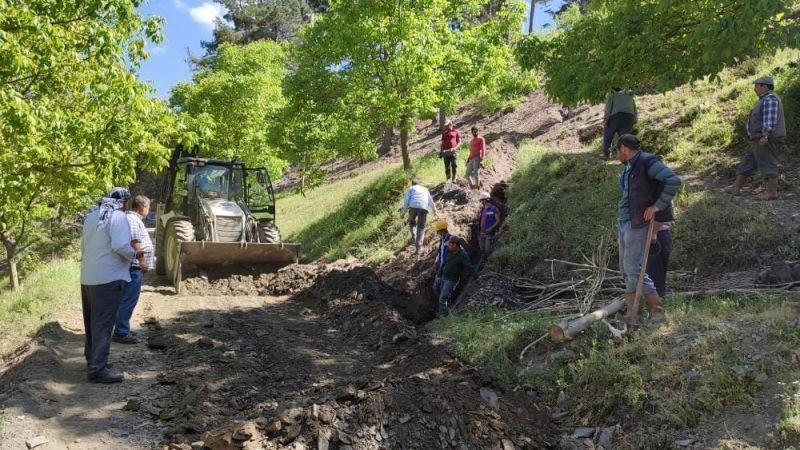 Aydın Büyükşehir Tarımsal Sulama Hatlarını Yeniliyor