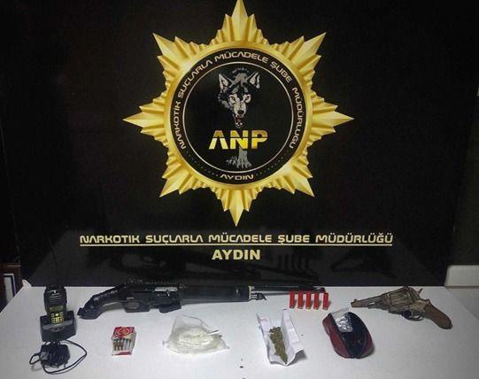Aydın Polisleri Uyuşturucuya Geçit Vermiyor!