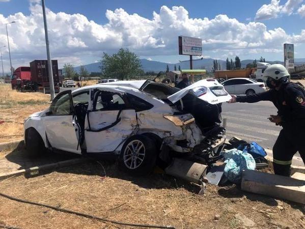 Aydın BİK Müdürü Gülen Kaza Yaptı; 2 Yaralı
