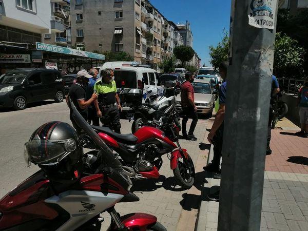 Nazilli'de 'Dur' İhtarına Uymayan Motosikletten Uyuşturucu Çıktı