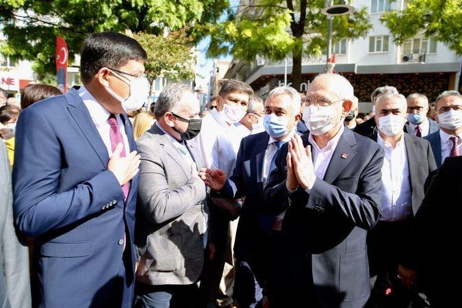 Başkan Özcan, Kılıçdaroğlu İle Bir Araya Geldi