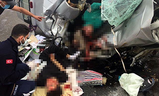 Kamyonet Şoförünün Tuvalet Molası Faciaya Sebep Oldu; 1 Ölü 2 Yaralı