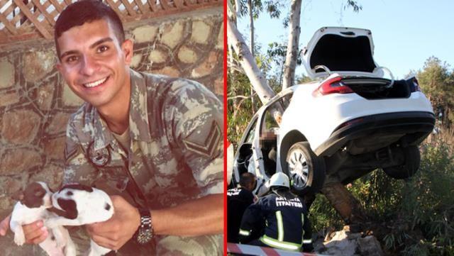 Ailesini Ziyarete Gelen Piyade Er Trafik Kazasında Hayatını Kaybetti