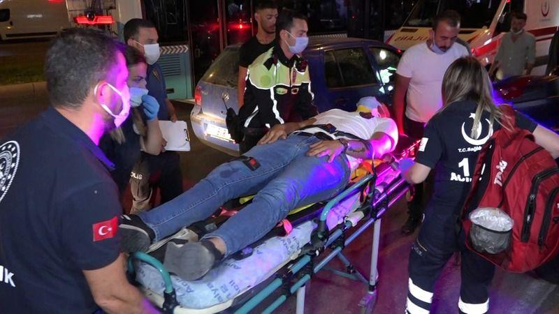 Alkollü Sürücü Dehşet Saçtı; 5 Otomobil Ve 5 Yayaya Çarptı