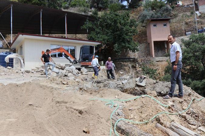 Nazilli Belediyesi'nden Şimşelli'ye Yatırım