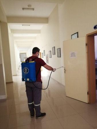Nazilli Belediyesi YKS Öncesi Tüm Okulları Dezenfekte Ediyor