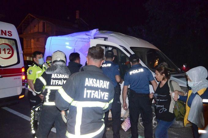 Yolcu Otobüsü İle Panelvan Minibüs Çarpıştı; Çok Sayıda Yaralı Var!