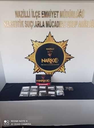 Nazilli'de Uyuşturucu Tacirlerine Operasyon; 1 Kişi Tutuklandı