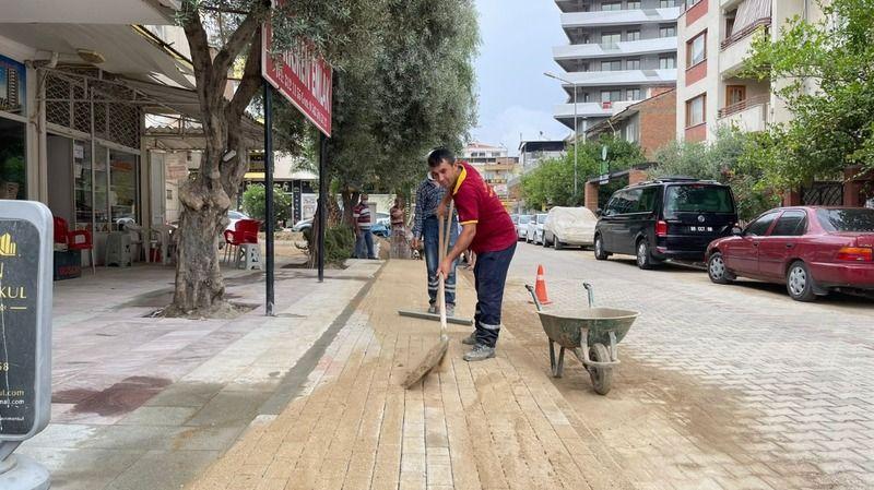 Nazilli'nin Merkez Yolları Bir Bir Yenileniyor