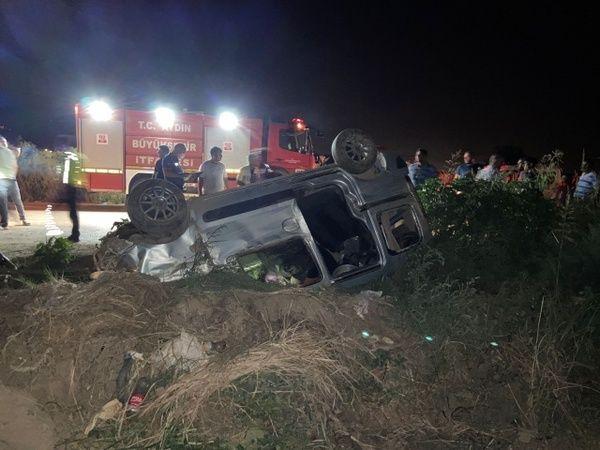 Aydın'da Feci Kaza; 1'i Bebek 5 Yaralı!