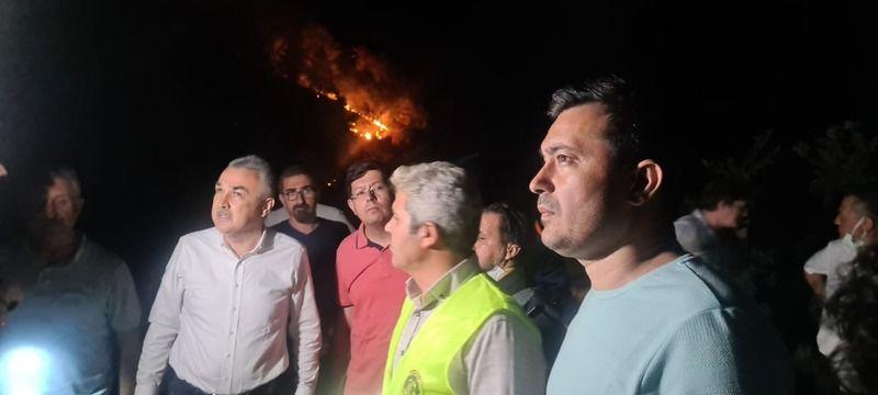 Karacasu'daki Yangından Sevindiren Haber!