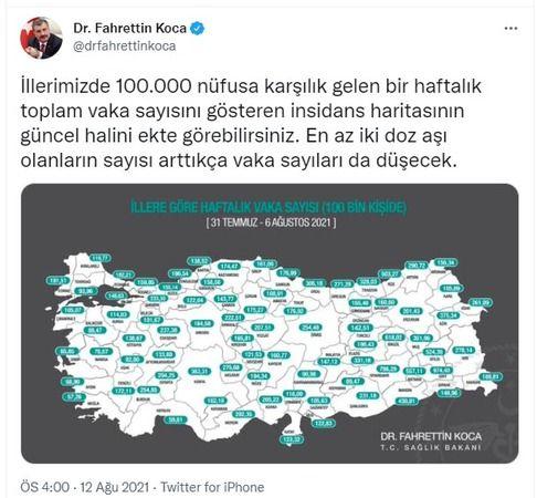 Aydın'daki Vaka Sayılarında Korkutan Artış