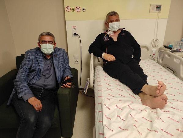 MHP Nazilli İlçe Başkanı, Vücudunda 3 Böbrek İle Yaşıyor!