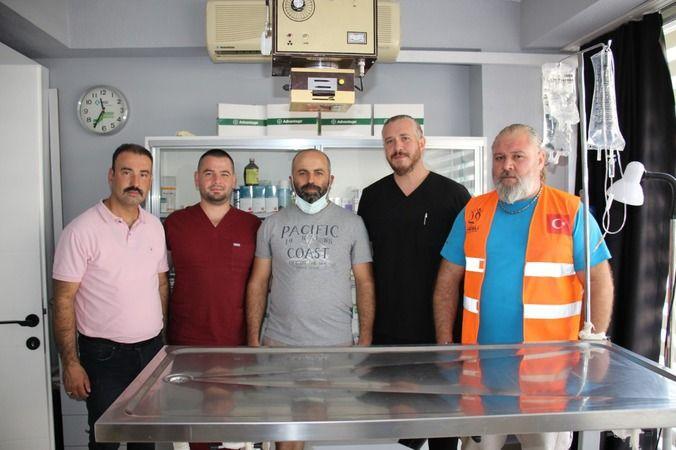 Nazilli Belediyesi Yaralı Leyleğe Sahip Çıktı