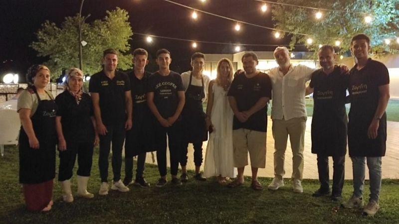 Zeytin Restoran'ın Sahibi Emin Ağan'a Doğum Günü Sürprizi!
