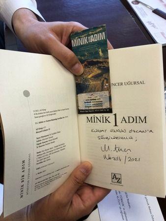Yazar Uğursal'dan Başkan Özcan'a Ziyaret