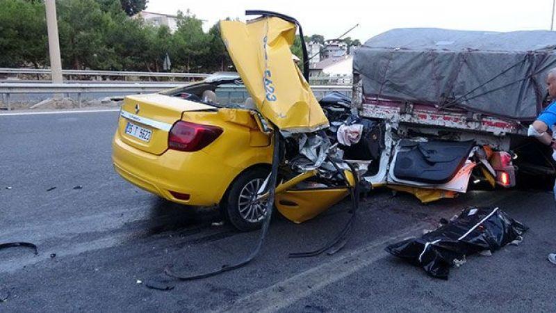 Aracı Gören Gözlerine İnanamadı, 1 Ölü 2 Yaralı!
