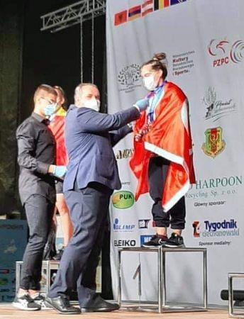 Aydınlı Burcu, Avrupa Şampiyonu Oldu!