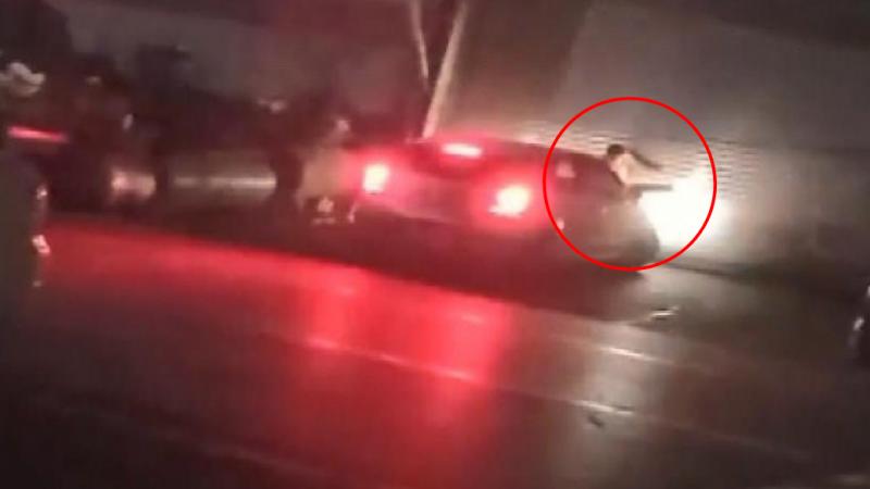 Genç Kadın, Tartıştığı Sevgilisini Otomobille Ezmeye Çalıştı