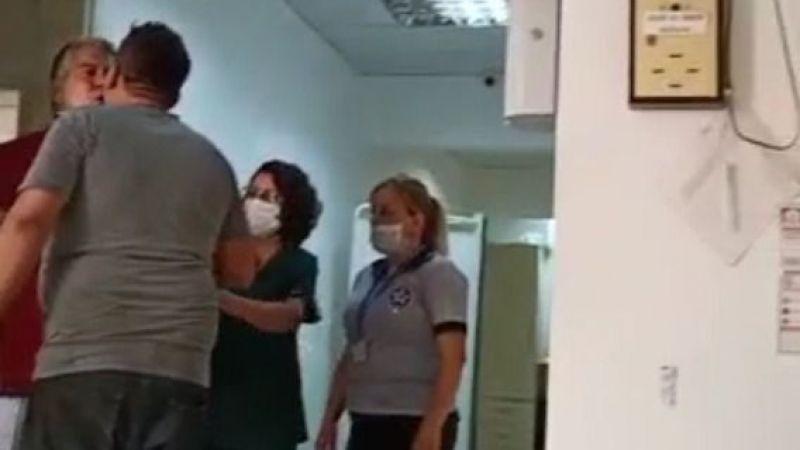 Eşine Bağıran Doktora Saldırdı