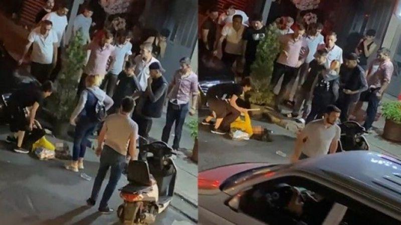 Anne, Kızını Sokak Ortasında Sopayla Öldüresiye Dövdü