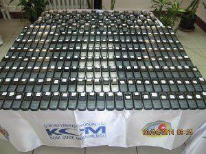 Çorum'da Otobüste 326 Kaçak Cep Telefonu Ele Geçirildi