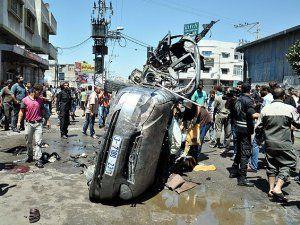 İsrail Uçakları Gazze'yi Vurdu: 4 Kişi Öldü
