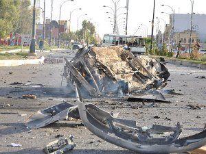 Irak'ta Kontrol Noktası İntihar Saldırısı Düzenlendi
