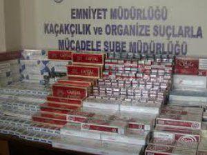 Çankırı'da Yolcu Otobüsünde 4 Bin 650 Paket Kaçak Sigara Bulundu