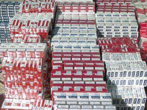 Erzincan'da 61 Bin 500 Paket Kaçak Sigara