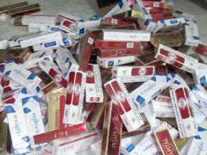 Yüksekova'da 35 Bin Paket Kaçak Sigara Ele Geçirildi