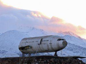 Kayseri'li Gurbetçi Yolcu Uçağını Restorana Dönüştürüyor
