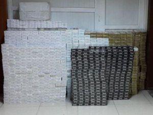 Şanlıurfa'da Kamyonda 127 Bin Paket Kaçak Sigara Ele Geçirildi