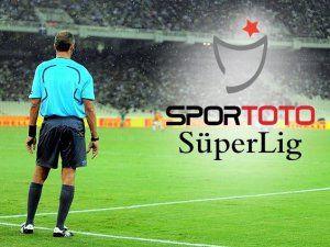 Süper Ligde 18. Hafta Hakemleri Açıklandı