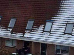 Çatısında Kar Olmayan Eve Uyuşturucu Baskını
