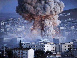 Koalisyon Güçlerinden Musul'a Hava Saldırısı