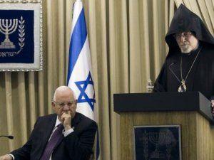 İsrail Cumhurbaşkanı Rivlin'in Ermeni İddialarıyla İlgili Şok Yaratan Sözleri!