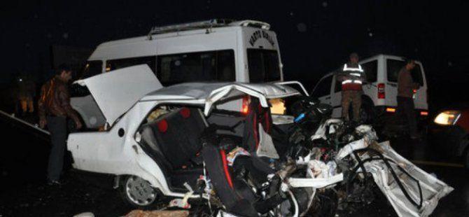 Bingöl- Erzurum Karayolunda Kaza: 1 Ölü, 3 Yaralı