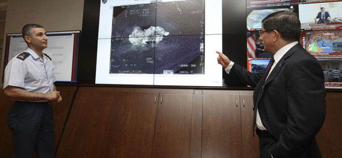 Başbakan Ahmet Davutoğlu, IŞİD Operasyonuyla İlgili Bilgi Aldı