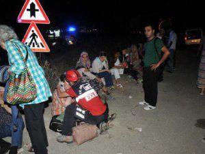TIR'a Arkadan Çarpan Otobüste Can Pazarı: 3'ü Ağır 33 Yaralı