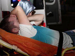 Taksim'de Lokomotif Moskova Taraftarı Bıçaklandı!
