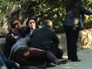 HDP: Silvan'da Figen Yüksekdağ'ın Üzerine Ateş Açıldı