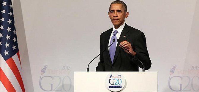 ABD Başkanı Barack Obama G20 Liderler Zirvesi'nin Ardından Açıklama Yaptı