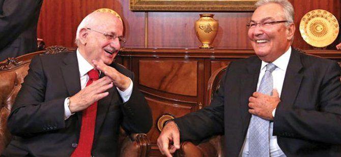 TBMM Geçici Başkanı Deniz Baykal Görevi Meclis Başkan Seçilen İsmail Kahraman'a Devretti